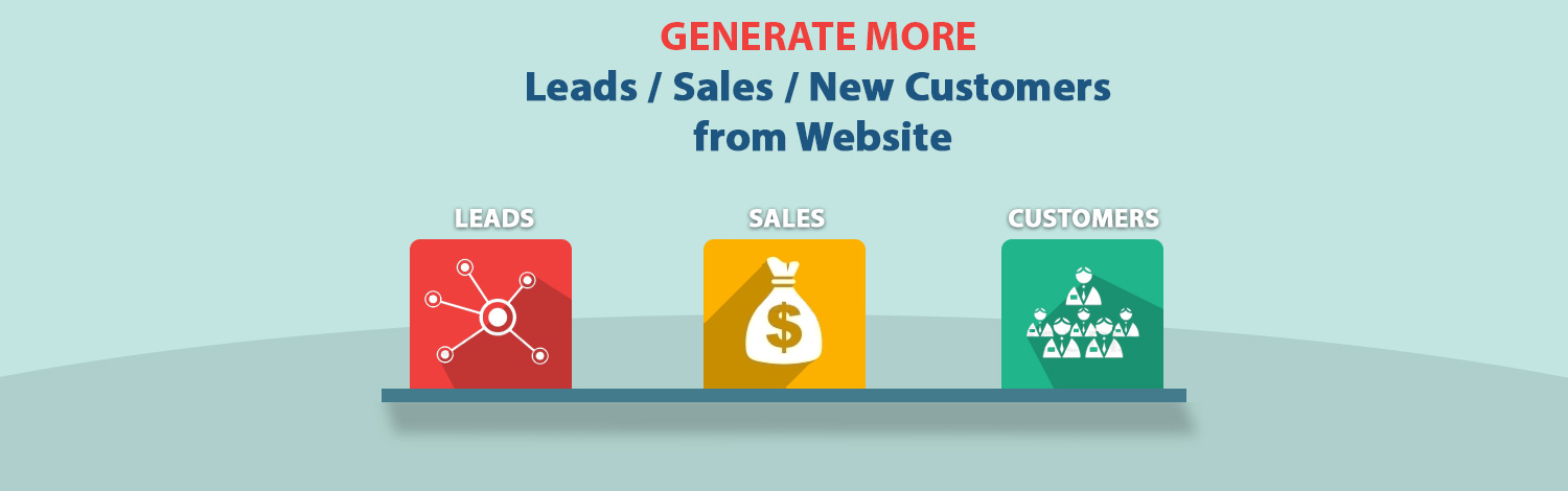 Generate More Leads / Sales / New Customers from Website